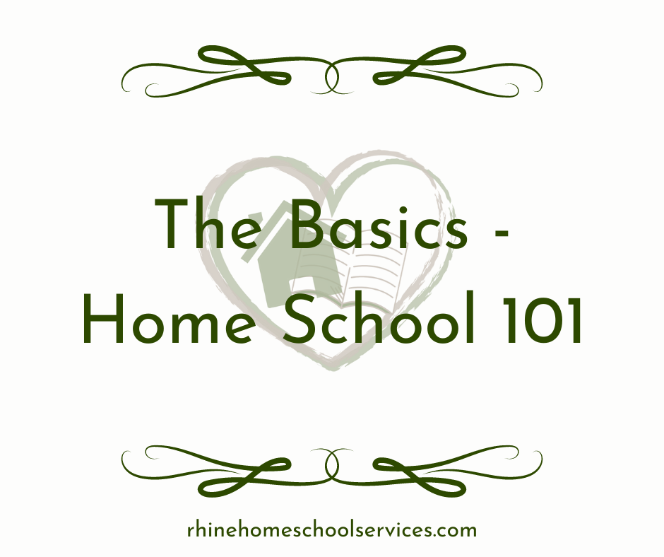 The Basics - Home School 101