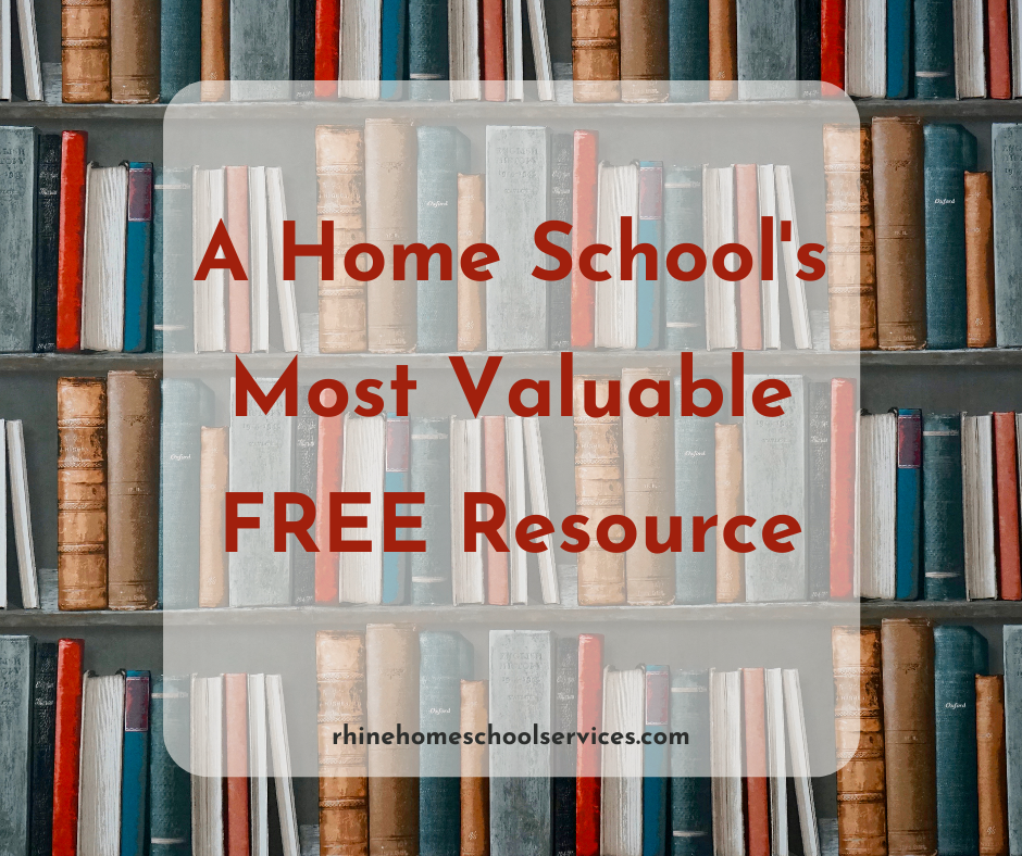 Home School's Most Valuable Free Resource