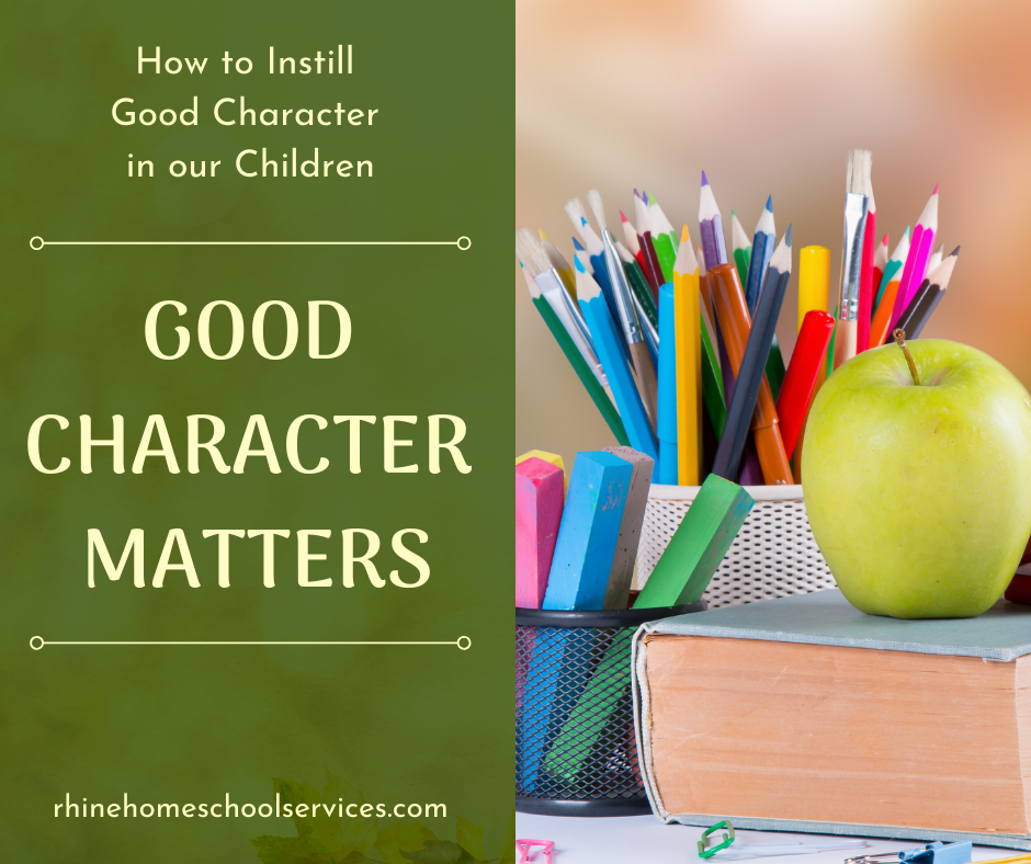 Good Character Matters
