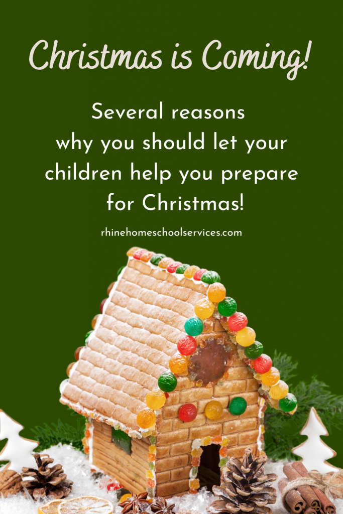 Christmas is coming - let your children help you