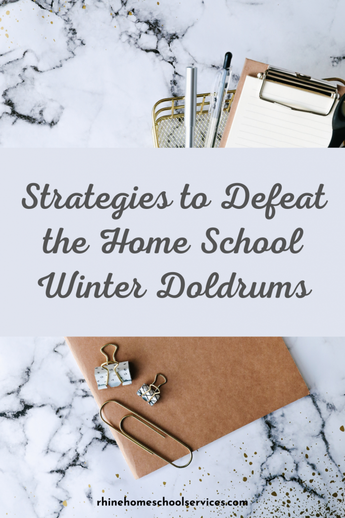 Defeat the Home School Winter Doldrums