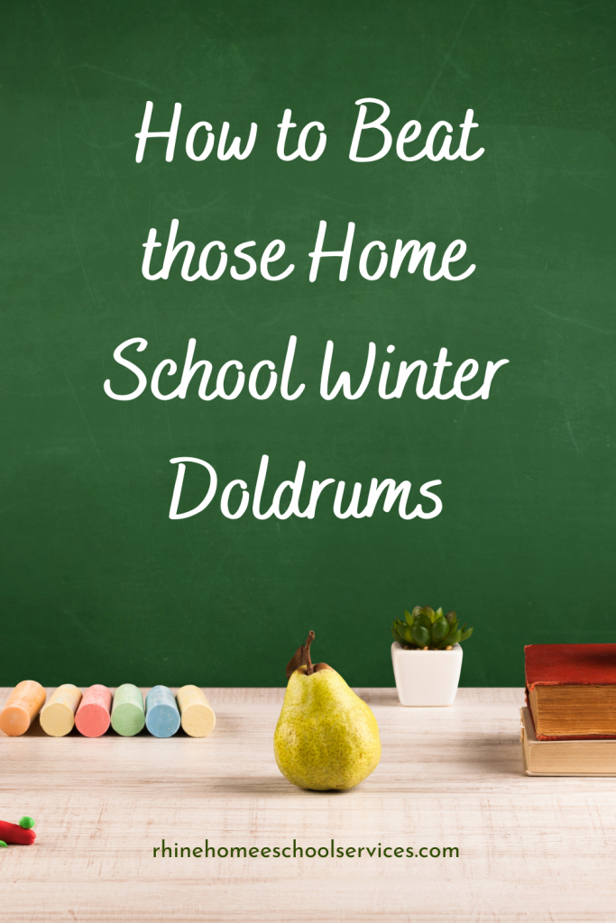 Beat the Home School Winter Doldrums