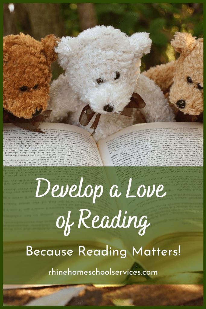 Teddy bears love to read