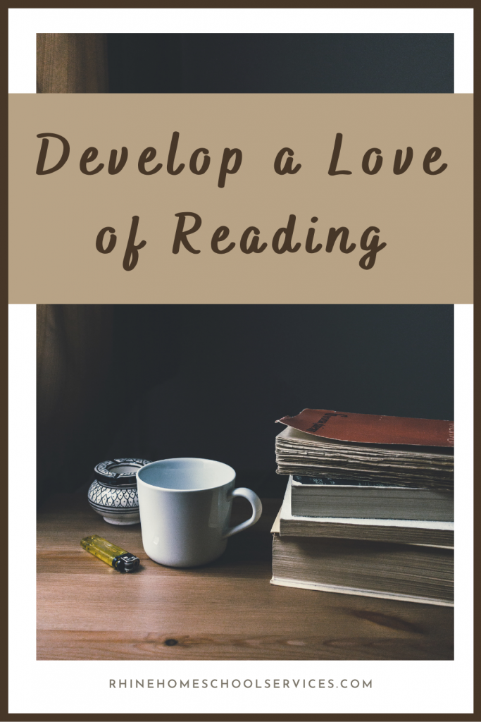 Coffe and Books Develop a Love for Reading