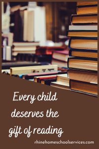 Every child deserves the gift of reading